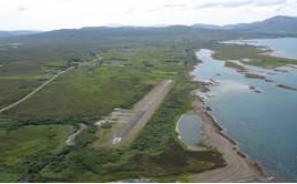 Ashaig/Broadford air strip.