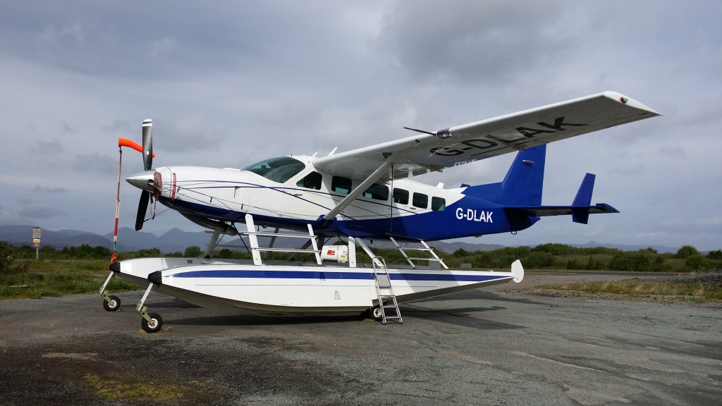 Sky Seaplanes Cessna 208 at Ashaig.