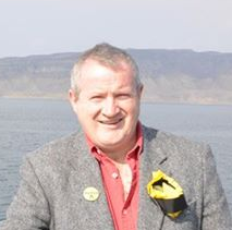 The new MP for Skye Ian Blackford.